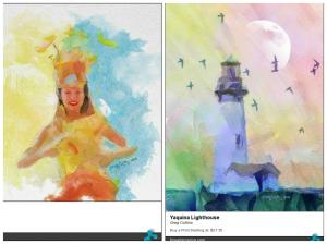 2 New Watercolor Paintings Posted