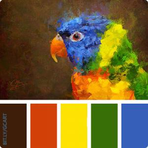 Artwork Color Palette - Crackers