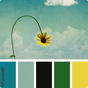 Artwork Color Palette - Expecting