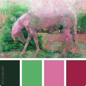 Artwork Color Palette - Sweet Peppermint