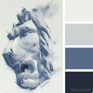 Artwork Color Palette - Why Hast Thou Forsaken Me